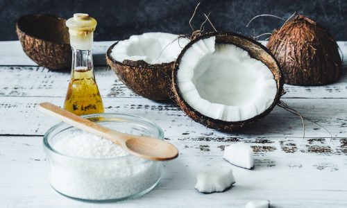 coconut oil and powder