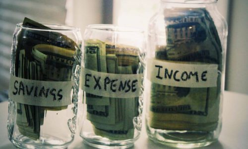 Income savings and Expenses
